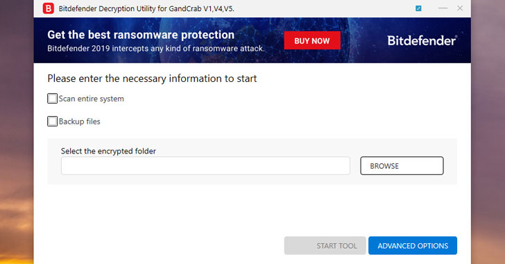gandcrab ransomware decryption tool download