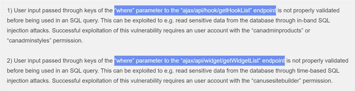 vbulletin security vulnerabilities