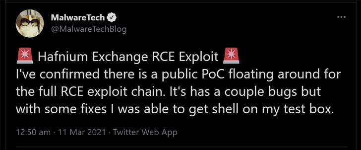 ProxyLogon Exploit