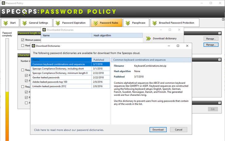 Specops Password Policy