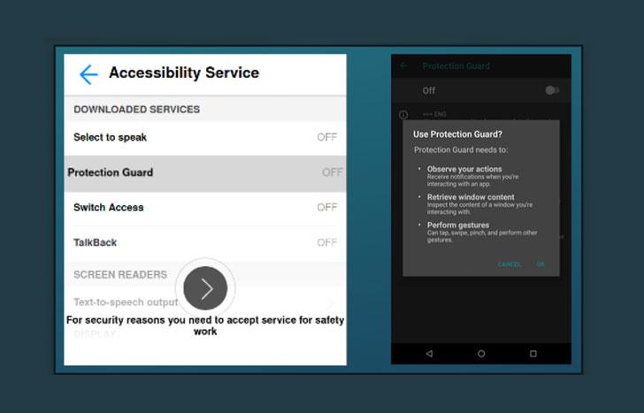 Android remote access trojan